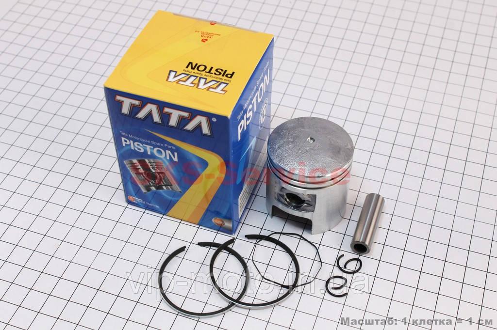 Поршень, кольца, палец к-кт Suzuki AD50/LETS 41мм +0,25 (палец 10мм)