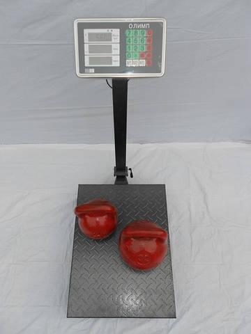 Весы товарные 300 кг Олимп-К2