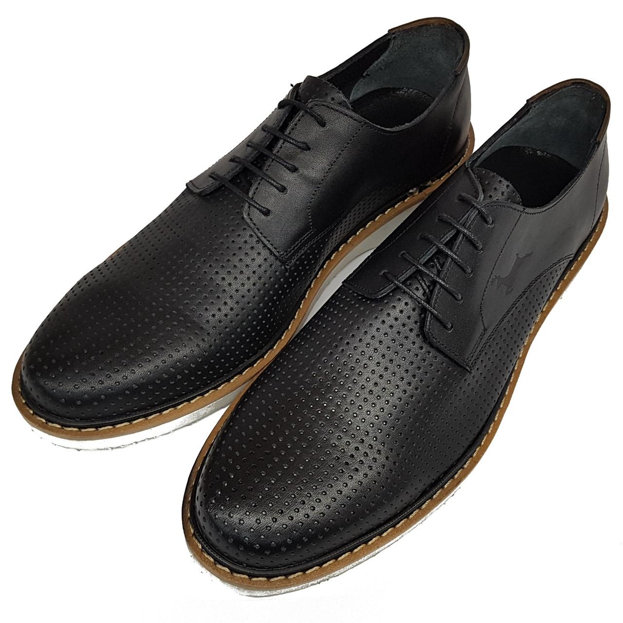 Мужские туфли Rifellini черные SH0008/08