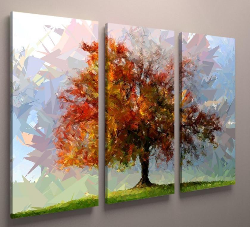 Фотокартина модульная природа пейзаж дерево 90х60