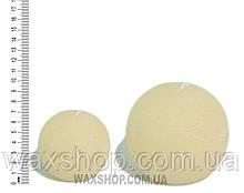 Свеча шар 7 см Пастельно желтый