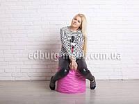 Пуфик Боченок   розовый Oxford