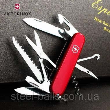 Нож Victorinox Huntsman 1.3713 красный