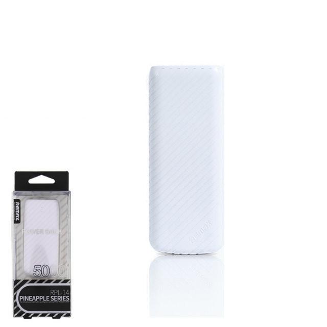 Портативное зарядное устройство (Power Bank) Remax Pineapple RPL-14 5000mAh White