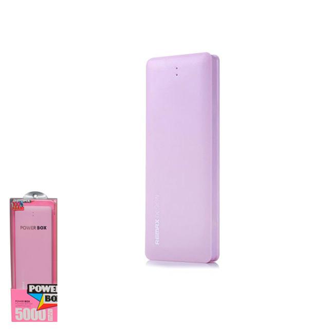 Портативное зарядное устройство (Power Bank) Remax Candy 5000mAh Pink