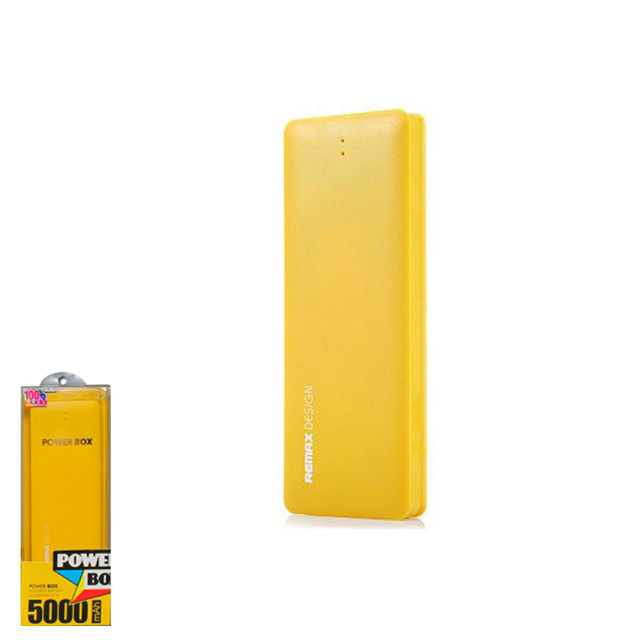 Портативное зарядное устройство (Power Bank) Remax Candy 5000mAh Yellow