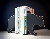 Держатели для книг Медведь (дерево)