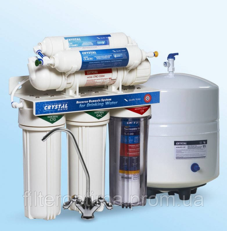 Фильтр для воды с обратным осмосом Crystal CFRO-550M - ЧП Белоконь А.О. в Харькове
