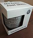 Оригинальная фарфоровая кружка Volkswagen Commercial Vehicles Mug, Black (7E0069601A), фото 2