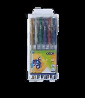 Набір з 6-ти гелевих ручок METALLIC