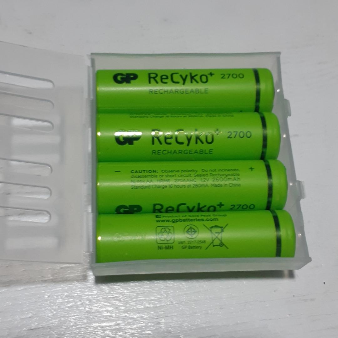 Аккумулятор GP AA ReCyko+Pro 2700mAH (GP270AAHCE-2APCGBE4)