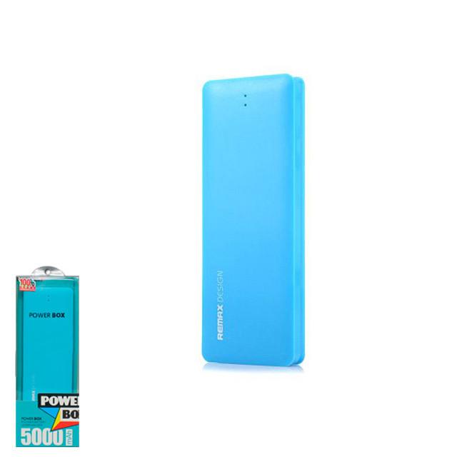 Портативное зарядное устройство (Power Bank) Remax Candy 5000mAh Blue