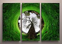 Фотокартина модульная красивый пейзаж 90х60