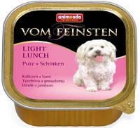 Консервы для собак Animonda Vom Feinsten Light Lunch, с индейкой и ветчиной 150 гр.