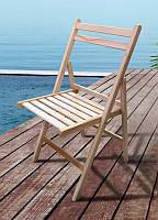 Стілець дерев'яний розкладний Пікнік, 830 х 400 х 430, колір натуральний