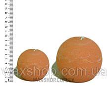 Свеча шар 7 см Оранжевый
