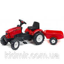 Трактор на педалях с прицепом Lander Falk 2030A