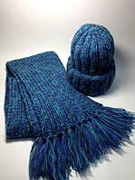Шапка и шарф (50% шерсть)