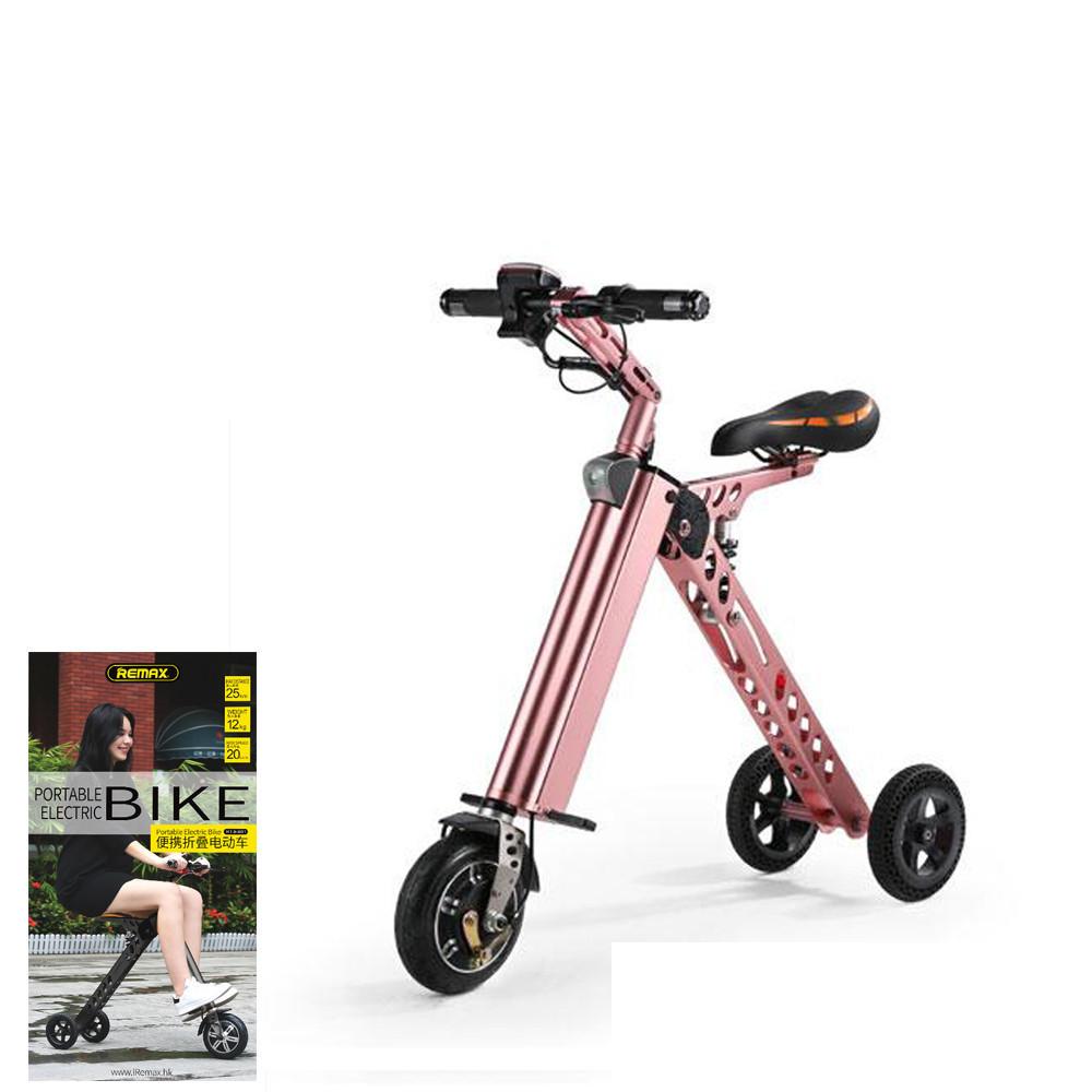 Электровелосипед Remax RT-BT01 Pink