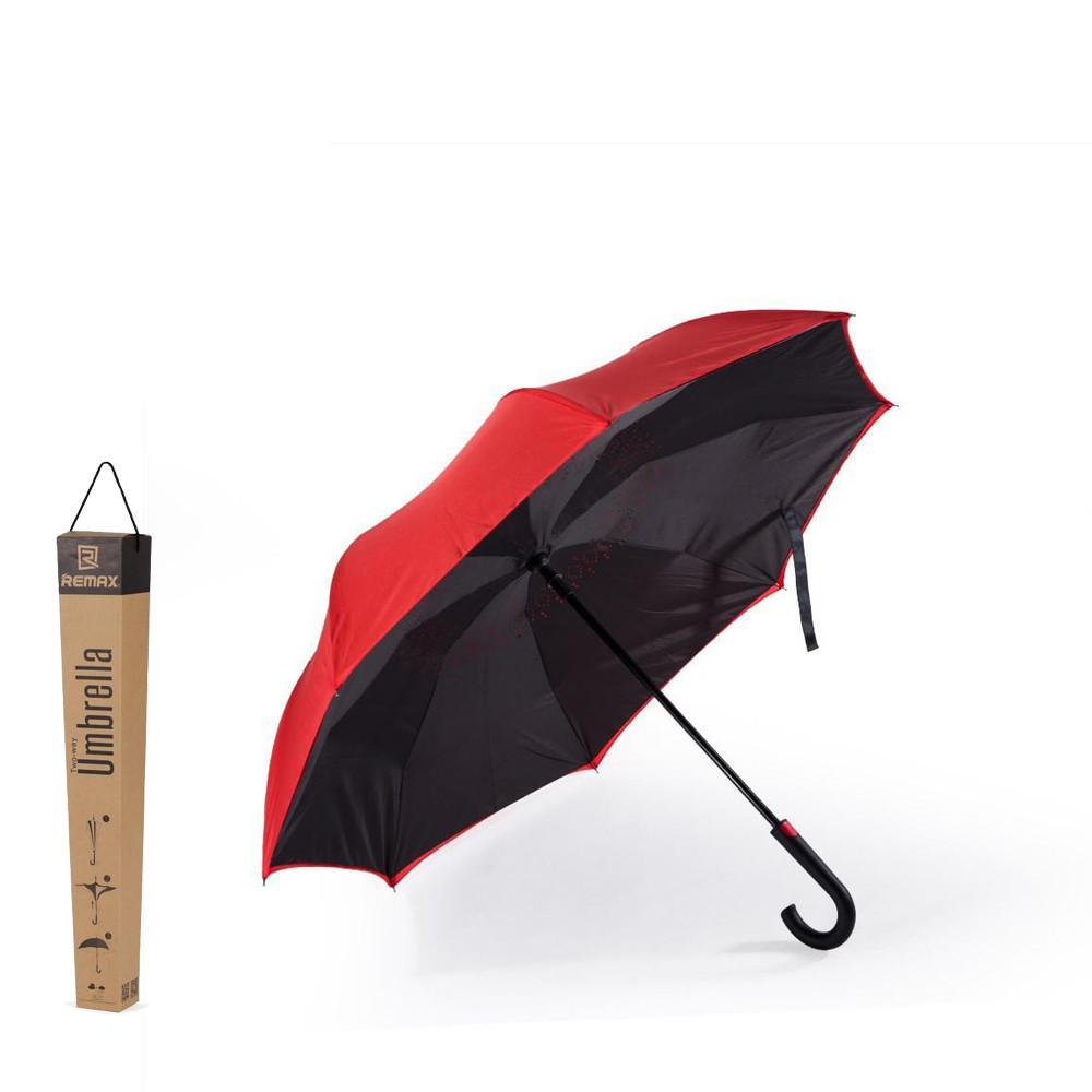Зонт Remax Two-way Car Umbrella RT-U1 Red от интернет-магазина Remax-store  - 919468212