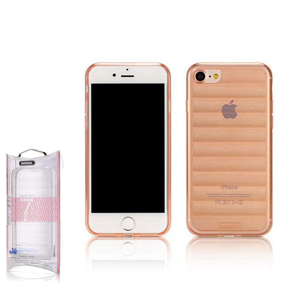 Чохол Remax Wave iPhone 7 Plus Pink