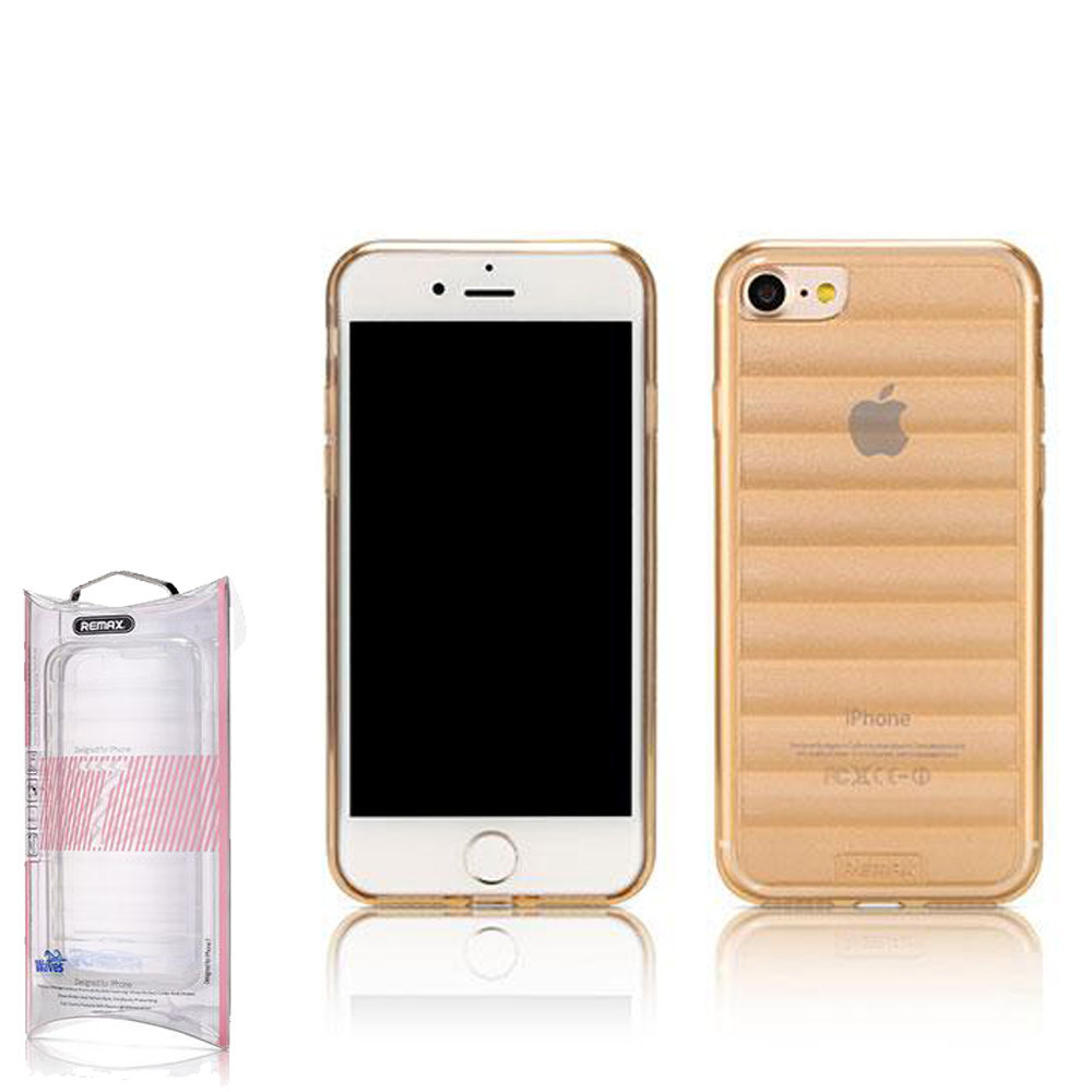 Чехол Remax Wave iPhone 7 Plus Gold