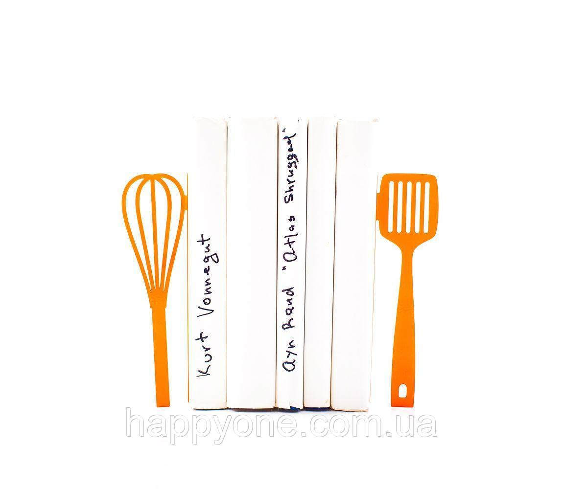 Тримачі для книг Віночок і Лопатка (помаранчеві)