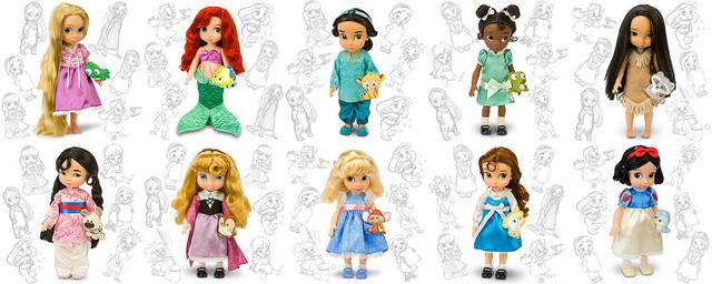 Disney Animators dolls logo