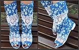 Кружевные коттоновые летние сапожки, фото 4