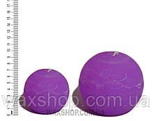 Свеча шар 7 см Пурпурный