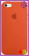 Чехол Apple iPhone SE/5S/5 Silicon Case (HC) - Orange