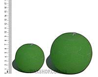 Свеча шар 10 см Изумрудно Зеленый, фото 1