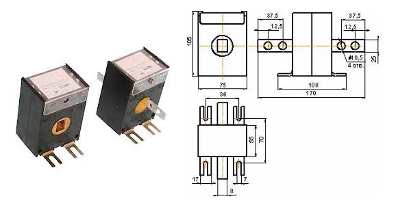 Трансформаторы тока 150/5 фото