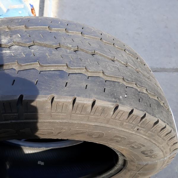 Бусовские шины б.у. / резина бу 215.70.r15с Continental Vanco Camper Континенталь