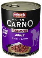Консервы для собак Animonda Gran Carno, с говядиной и ягненком 800 гр.