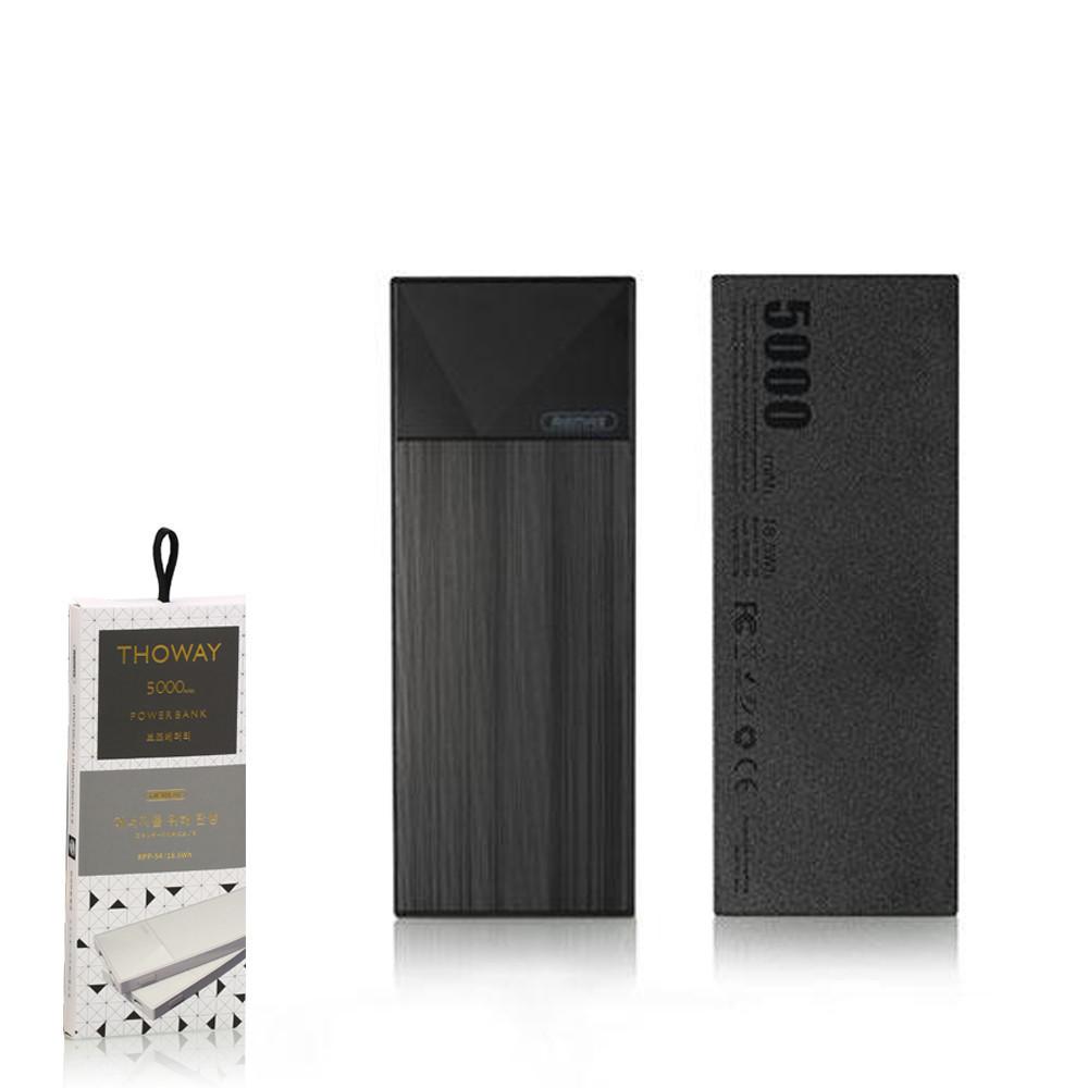 Портативное зарядное устройство (Power Bank) Remax Thoway RPP-54 5000mAh Black