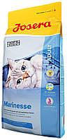 Сухой корм для чувствительных и привередливых кошек с лососем Josera Marinesse 2 кг