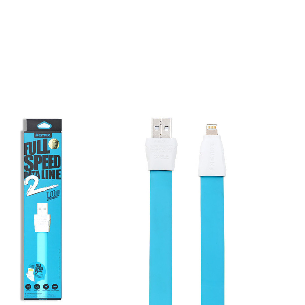 USB кабель Remax Full Speed 2 RC-011i Lightning 1 Blue