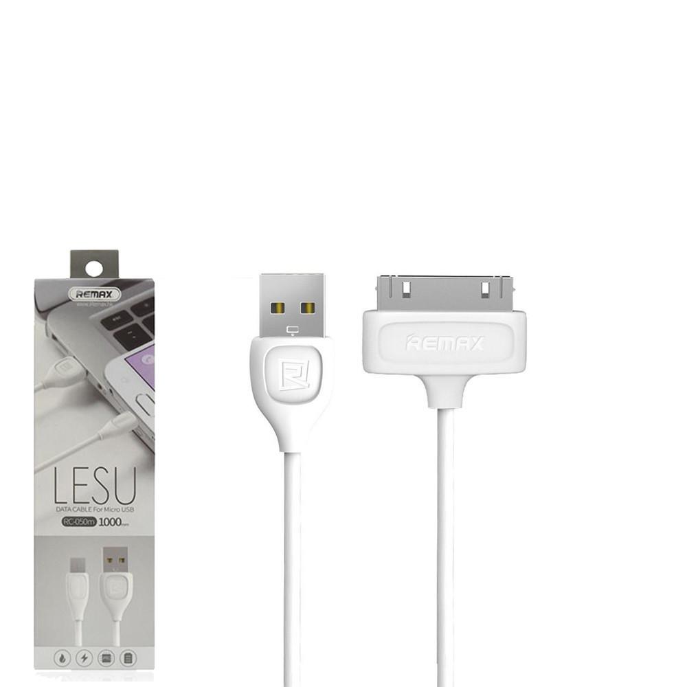 USB кабель Remax Lesu iPhone 4 RC-050 1m White