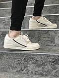 Чоловічі кросівки в стилі Adidas Continental 80 (Milk), Адідас Континеталь 80 (Репліка ААА), фото 2