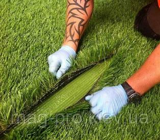 Двухкомпонентный полиуретановый клей для монтажа искусственной травы (зелёного цвета)