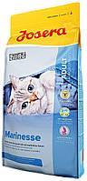 Сухой корм для чувствительных и привередливых кошек с лососем Josera Marinesse  400 грамм