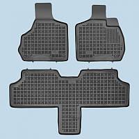 Резиновые коврики в салон Chrysler Voyager 2001-2006 5 мест RP 203601A | Автоковрики Rezaw-Plast