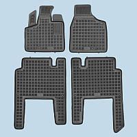 Резиновые коврики в салон Chrysler Voyager 2006- 5 мест RP 203701A | Автоковрики Rezaw-Plast