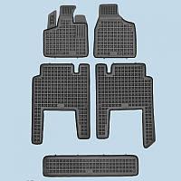 Резиновые коврики в салон Chrysler Voyager 2006- 7 мест RP 203701 | Автоковрики Rezaw-Plast