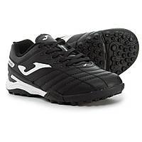 Футбольные бутсы Joma Toledo JR  (для мальчиков), черно-белые, 37 размер