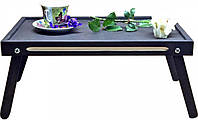 Столик в постель, Оригинальный Графитовый цвет, поднос для завтрака в постель (57259)