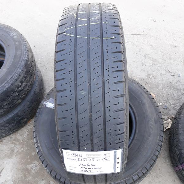 Бусовские шины б.у. / резина бу 225.75.r16с Michelin Agilis Мишлен