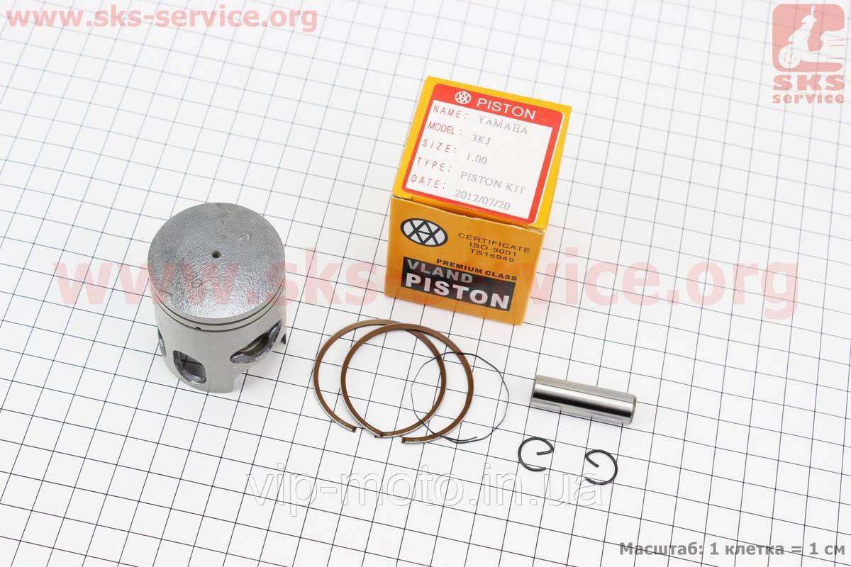 Поршень, кольца, палец к-кт Yamaha JOG50 40мм +1,00 (палец 10мм)