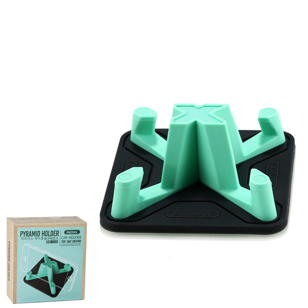 Автомобильный универсальный держатель Remax RM-C25 Green